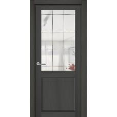 Межкомнатная дверь полипропилен ДО Классика ZO1 зеркало