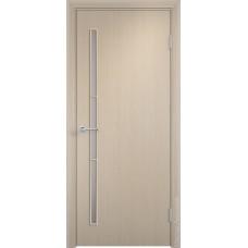"""Ламинированная межкомнатная дверь """"28Б"""" со стеклом"""