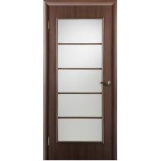 """Ламинированная межкомнатная дверь """"Ампир-5"""" со стеклом"""