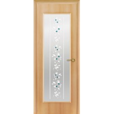 """Ламинированная межкомнатная дверь """"Портал"""" со стеклом"""