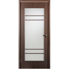 """Ламинированная межкомнатная дверь """"НЕО-2"""" со стеклом"""