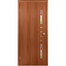 """Ламинированная межкомнатная дверь """"Данза"""" со стеклом"""