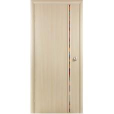 """Ламинированная межкомнатная дверь """"Экко-3"""" со стеклом"""