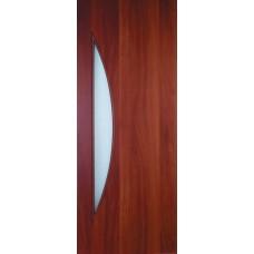 """Ламинированная межкомнатная дверь """"Дюна"""" со стеклом"""