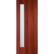 """Ламинированная межкомнатная дверь """"Ливорно"""" со стеклом"""
