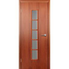 """Ламинированная межкомнатная дверь """"Свирель"""" со стеклом"""