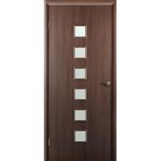 """Ламинированная межкомнатная дверь """"Сонет"""" со стеклом"""