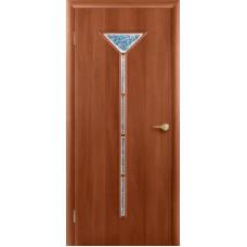 """Ламинированная межкомнатная дверь """"Нарцисс"""" со стеклом"""