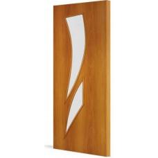 """Ламинированная межкомнатная дверь """"Астра"""" со стеклом"""