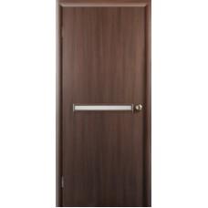 """Ламинированная межкомнатная дверь """"Санторини"""" со стеклом"""