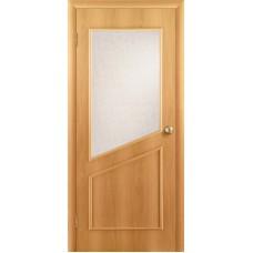 """Ламинированная межкомнатная дверь """"Дуэт"""" со стеклом"""