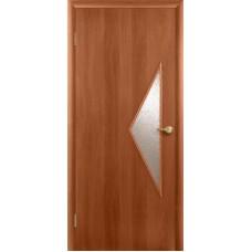 """Ламинированная межкомнатная дверь """"Балестра"""" со стеклом"""