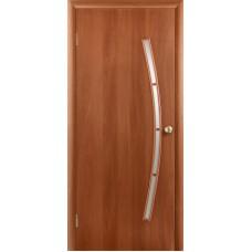 """Ламинированная межкомнатная дверь """"Рондо-1"""" со стеклом"""