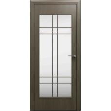 """Ламинированная межкомнатная дверь """"Романо"""" со стеклом"""