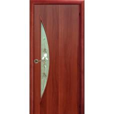 Ламинированная межкомнатная дверь ДО 011 фьюзинг Ирис