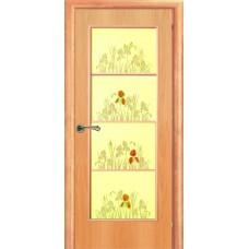 Ламинированная межкомнатная дверь ДО 002 фьюзинг Ирис