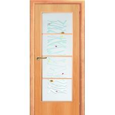 Ламинированная межкомнатная дверь ДО 002AK фьюзинг Кантри