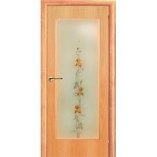 Ламинированная межкомнатная дверь ДО 002oA фьюзинг Ирис