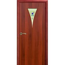 Ламинированная межкомнатная дверь ДО 006 фьюзинг Ирис