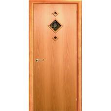 Ламинированная межкомнатная дверь ДО 016r фьюзинг Роза