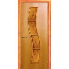 Ламинированная межкомнатная дверь ДО 018 фьюзинг Роза