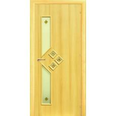 Ламинированная межкомнатная дверь ДО 008 фьюзинг Самоцветы