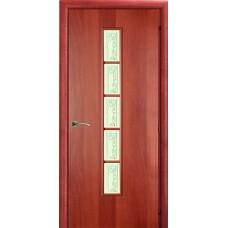 Ламинированная межкомнатная дверь ДО 014 фьюзинг Яблонька