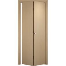 Ламинированная межкомнатная дверь книжка ДПГ глухая