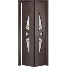 Ламинированная межкомнатная дверь книжка ДО 055