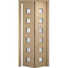 Ламинированная межкомнатная дверь книжка ДО 023