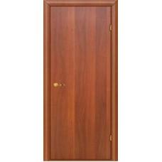 """Ламинированная межкомнатная дверь гладкая """"Пиано"""" глухая и усиленная"""