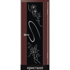 Межкомнатная дверь ПВХ-люкс Стиль 4 с художественным рисунком