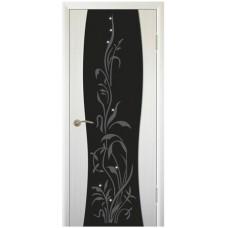 Межкомнатная дверь ПВХ-люкс Сириус 3 худ. стекло