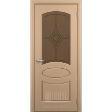 """Межкомнатная дверь ПВХ-люкс """"Каролина"""""""