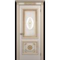 """Межкомнатная дверь ПВХ-люкс """"Апполон со стеклом"""""""