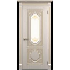 """Межкомнатная дверь ПВХ-люкс """"Артемида со стеклом"""""""