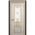 """Межкомнатная дверь ПВХ-люкс """"Гефест со стеклом"""""""