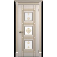 """Межкомнатная дверь ПВХ-люкс """"Ирида со стеклом"""""""