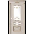 """Межкомнатная дверь ПВХ-люкс """"Леона со стеклом"""""""