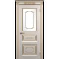 """Межкомнатная дверь ПВХ-люкс """"Марсель со стеклом"""""""