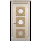 """Межкомнатная дверь ПВХ-люкс """"Рим со стеклом"""""""