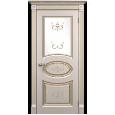 """Межкомнатная дверь ПВХ-люкс """"Римини со стеклом"""""""