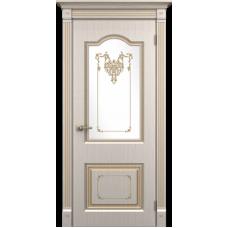"""Межкомнатная дверь ПВХ-люкс """"Таскания со стеклом"""""""