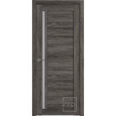 Царговая межкомнатная дверь экошпон GLAtum Х9