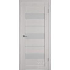 Царговая межкомнатная дверь экошпон GLAtum Х23