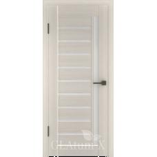 Царговая межкомнатная дверь экошпон GLAtum Х11