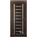 Царговая межкомнатная дверь экошпон GLAtum Х13