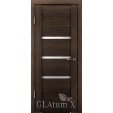 Царговая межкомнатная дверь экошпон GLAtum Х31