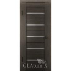 Царговая межкомнатная дверь экошпон GLAtum Х7