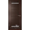 """Межкомнатная дверь ПВХ """"CLSigma 12"""" со стеклом"""